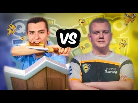 CHAMPION FACE OFF! ADRIAN PIEDRA VS SURGICAL GOBLIN BEST OF 5! - Clash Royale