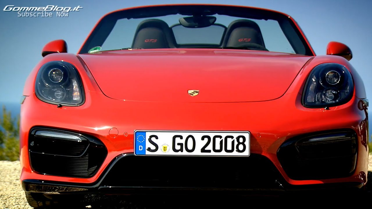 New 2015 Porsche Boxster Gts Sound Racetrack Test Drive