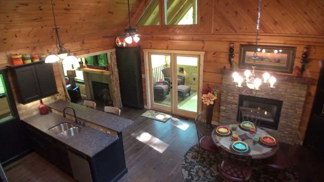 watch smoky sunrise mountains springs pin gatlinburg cabins with your elk bedroom great luxury cabin the mountain views amazing over from
