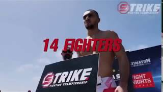 MMA турнир STRIKE SFC3
