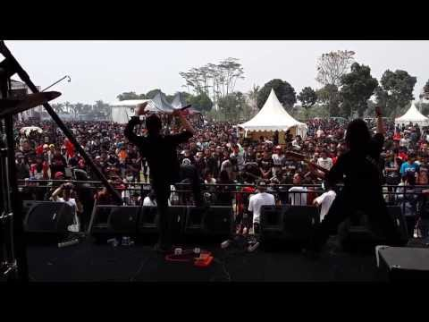 Children Of Gaza live at Hellprint United Day 3
