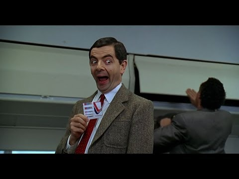 Thumbnail: [HD] First Class Flight (Mr. Bean)