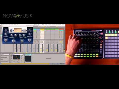 Support // Launch Control XL Getting started with Ableton