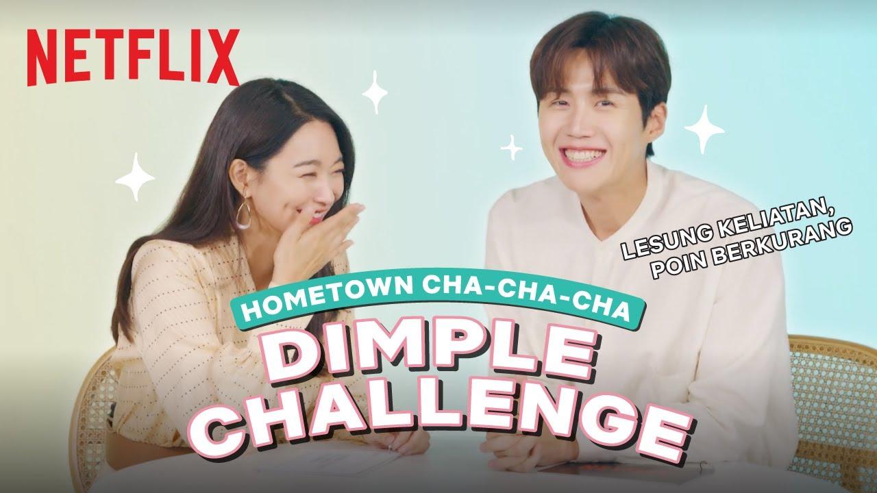 Kim Seon-ho & Shin Min-a Adu Nahan Lesung Pipi | Hometown Cha-Cha-Cha