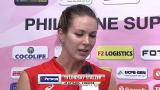 Match MVP: Lindsay Stalzer | Chooks-to-Go PSL Grand Prix 2017