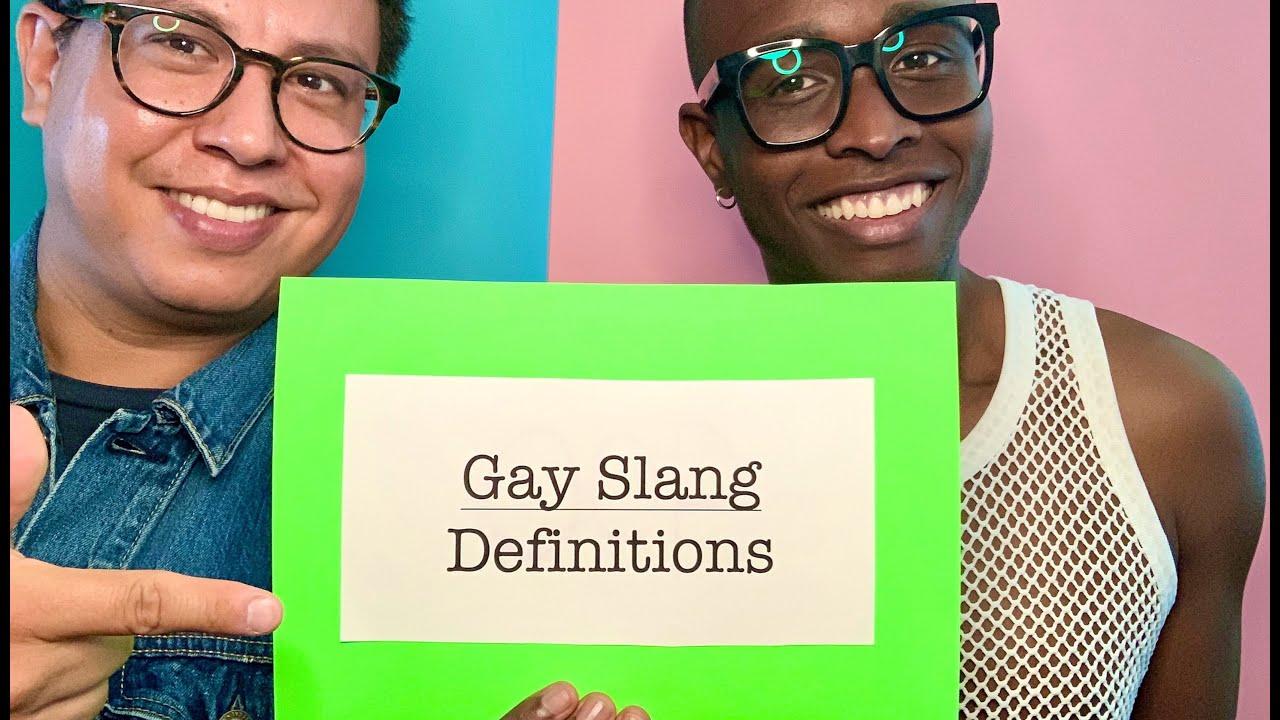 men slang Gay