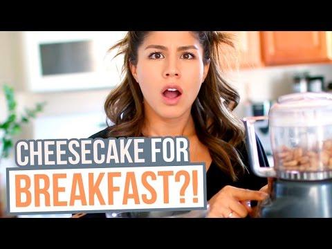 How to Cook: BREAKFAST CHEESECAKES | MeganBatoon
