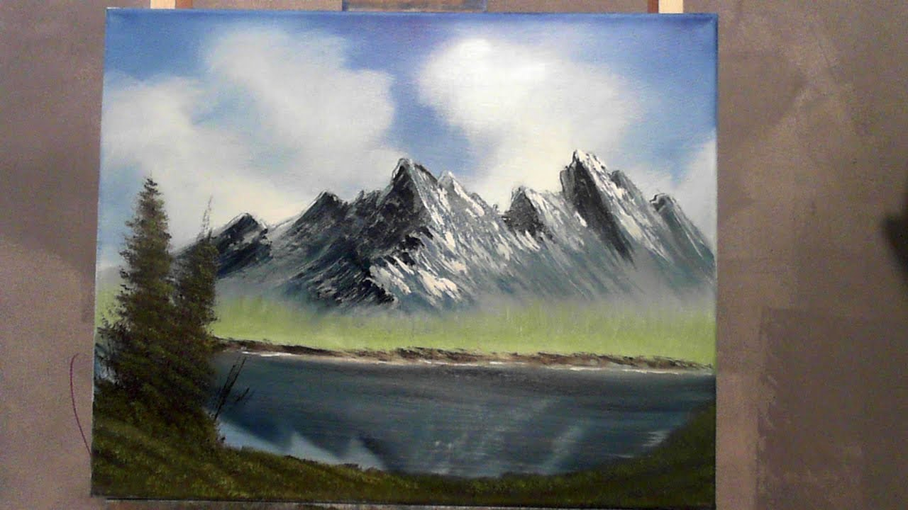 very easy oil painting lesson for beginners wet on wet ...