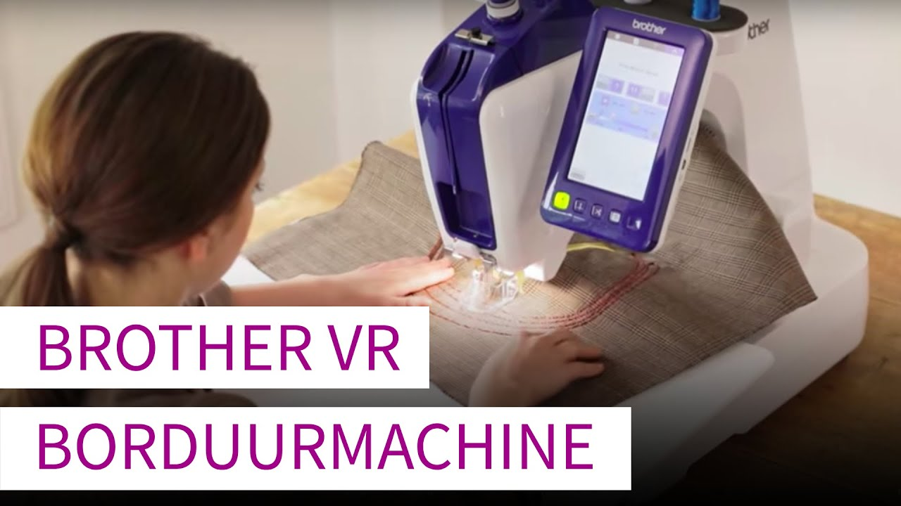 Download Brother VR Professionele borduurmachine