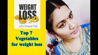 Top 7 best vegetables for weight loss in tamil | Aishwarya vignesh