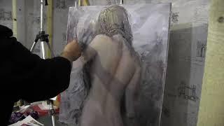 Игорь Сахаров, уроки рисования в Москве, живопись для начинающих 2