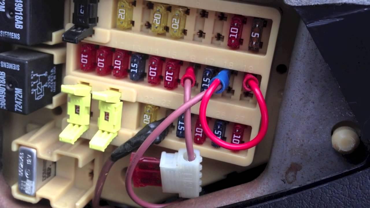 Fixing a Bad Fuse Panel in Dodge Dakota  YouTube