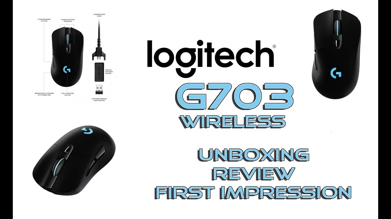 LOGITECH G703 LIGHTSPEED - review and first impression