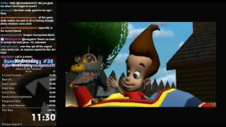 Jimmy Neutron - Attack of the Twonkies Speed Run in 2:04:15