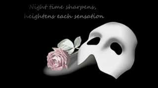 Phantom of the Opera - Music of the Night lyrics (Gerard Butler)