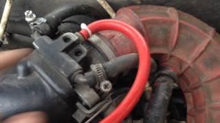 видео Инжектор. Горит чек(check) неисправность двигателя.