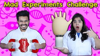 Mad Science Experiments Challenge | Hungry Birds