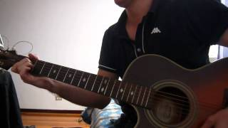 bryan adams - heaven (solo acoustic guitar instrumental cover)