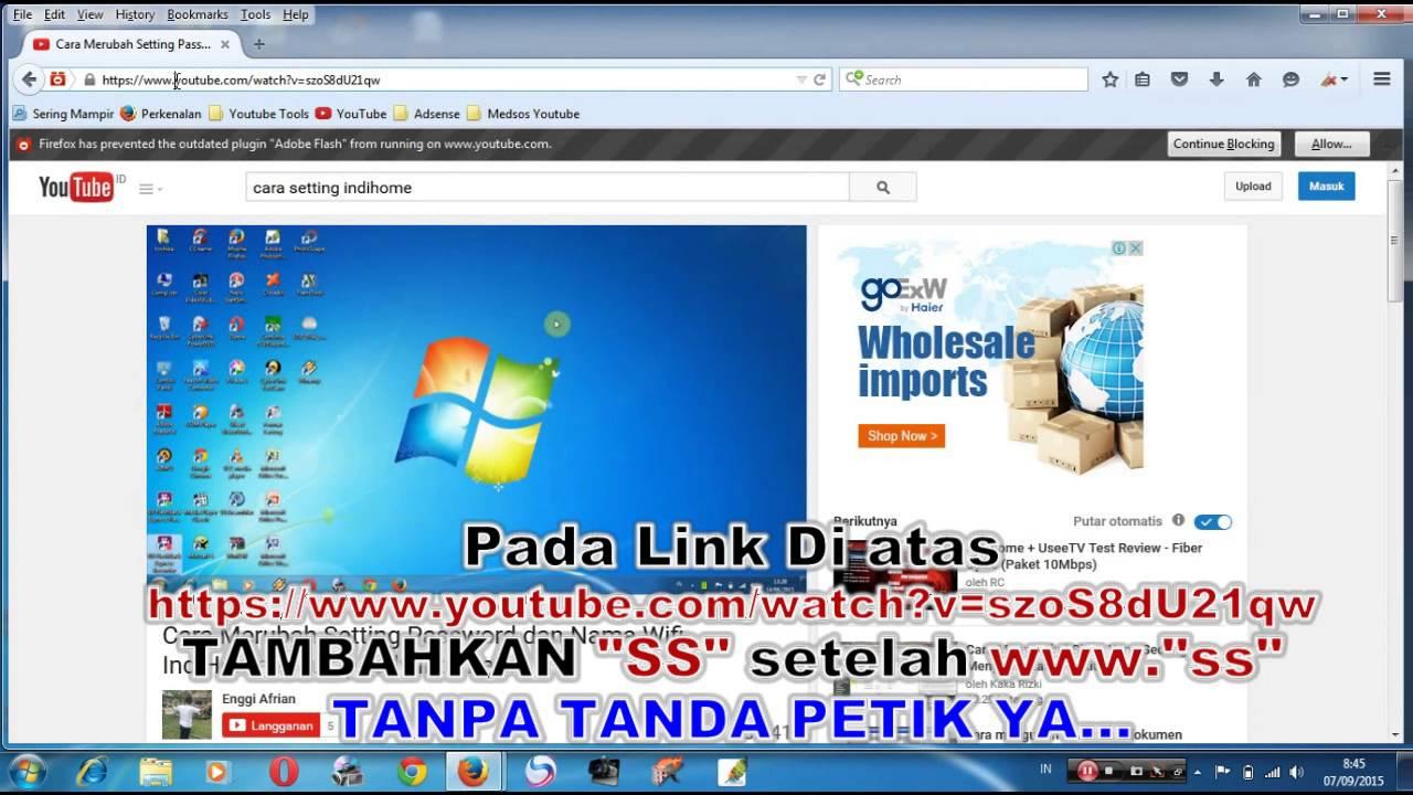 cara download video dengan menggunakan idm