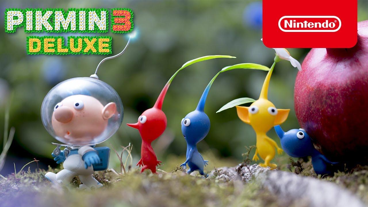 Νέα διαφημιστικά spot για το Pikmin 3 Deluxe