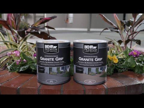 How to Apply BEHR Premium® Granite Grip™