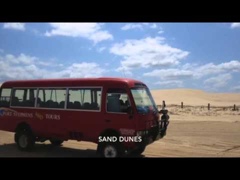 Port Stephens Tour - Sandboarding, Dolphin Watching - Sydney, Australia - October 4, 2015