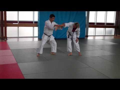 No 7 Inoue Yoshiomi Sensei at the British Aikido Association Summer School 2016