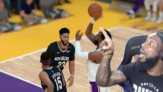 Anthony Davis Couldn't Believe This Shot! NBA 2K19 MyCareer Ep 105