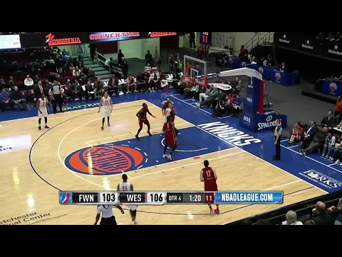 Highlights: Von Wafer (35 points)  vs. the Mad Ants, 2/22/2017