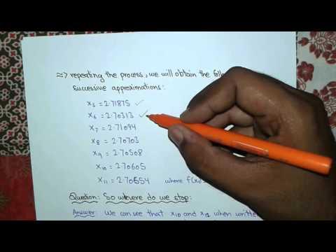 Numerical Analysis: Bisection Method