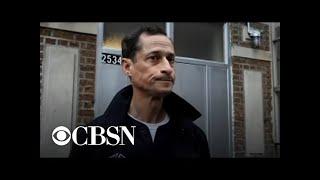 Ex-Congressman Anthony Weiner leaves halfway house in NYC