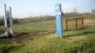 Border between Ukraine with Poland at Mostiskas/Przemyśl train station
