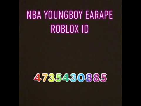 Nba Youngboy Roblox Music Id Nba Young Boy Bypass Roblox Id Youtube
