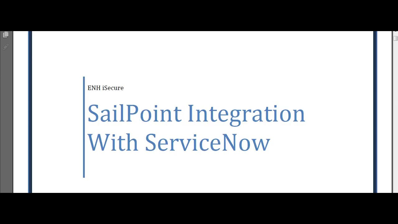 ServiceNow Queue User Administration using Sailpoint Identity IQ Demo