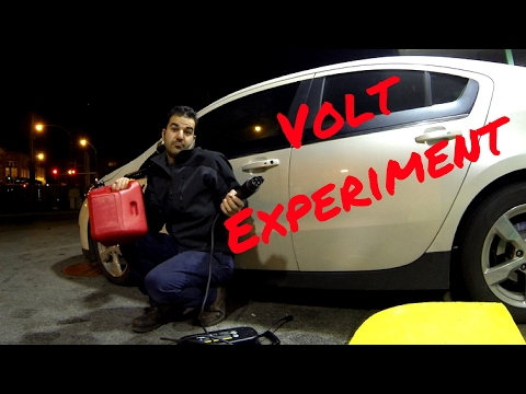 Out of Electric Range and Gas! What happens? Amazing what the Volt does!!