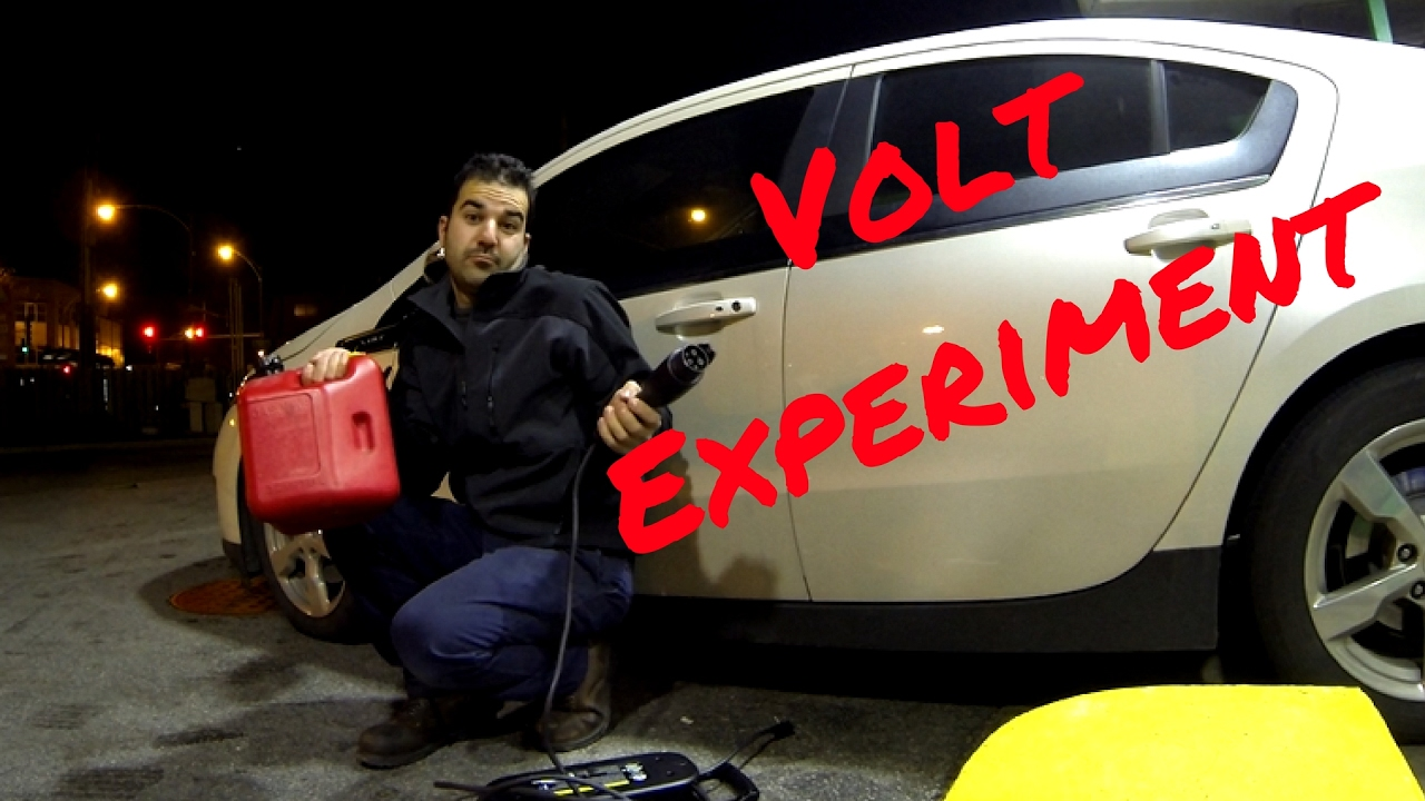 What Happens To A Chevy Volt When It Runs Out Of Electricity And Gas The