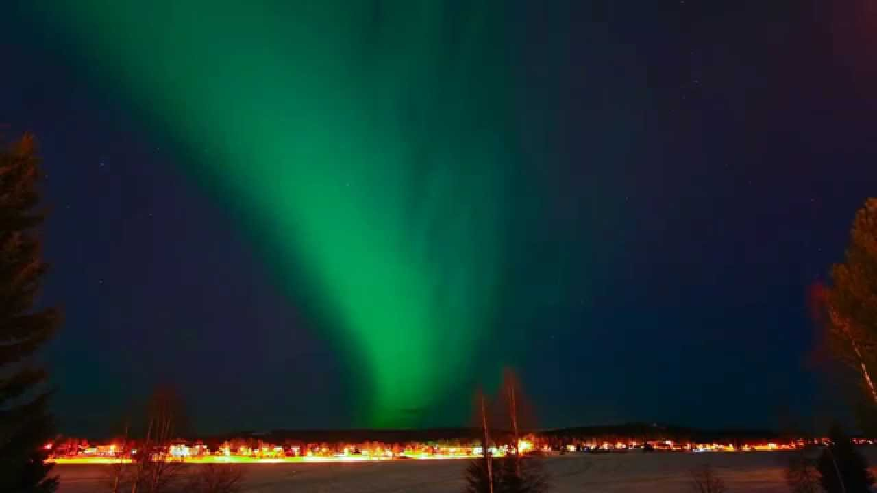 Aurora time lapse from boden sweden youtube for Boden sweden