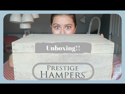 Prestige Hampers Unboxing Christmas Tradition Hamper