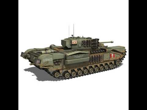 3D Model of Churchill MK.IV - T68457