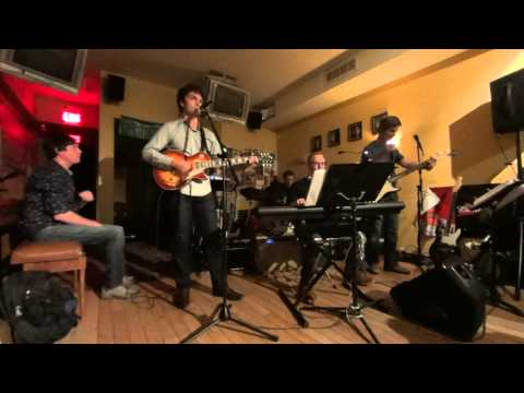 Adult Rock Band - Lucky (Radiohead) Live at Snider's Student Jam