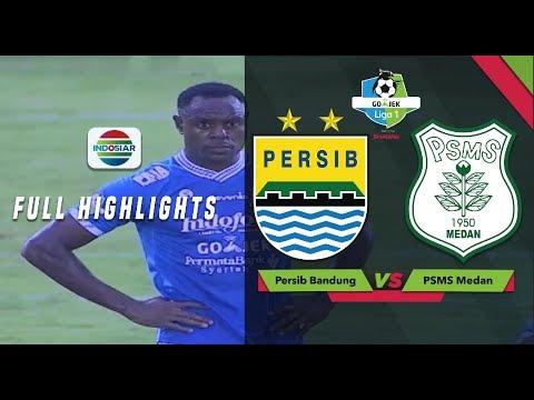 Persib Bandung (0) vs (1) PSMS Medan - Full Highlights | Go-Jek Liga 1 Bersama Bukalapak