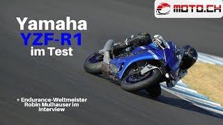 Yamaha YZF-R1 2020 im Test mit Gast Robin Mulhauser (Deutsch)