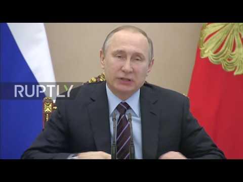 Russia: Putin talks Roscosmos strategy on Cosmonautics Day