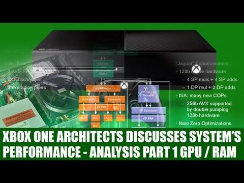 Xbox One - X1 Architects Speak To Explain Xbox One Hardware - ESRAM & GPU - Analysis Part 1