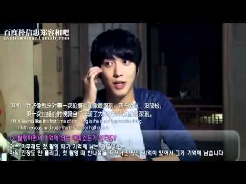 CNBlue Jung Yong Hwa interview (eng sub)