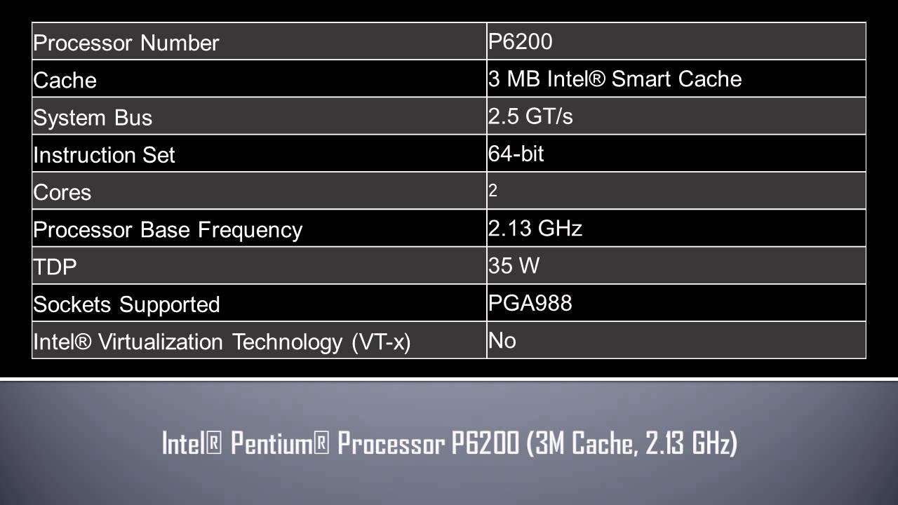 INTEL PENTIUM P6200 GRAPHICS WINDOWS 8 X64 TREIBER