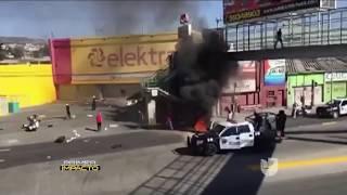 Primera víctima mortal en las violentas protestas en México por la subida del precio de la gasolina