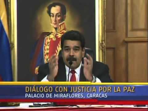 Diálogo Maduro-Oposición: Palabras iniciales (p. 2) de Nicolás Maduro