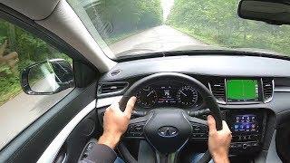 2019 INFINITI QX50 POV TEST DRIVE