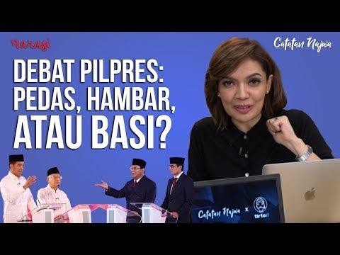 Catatan Najwa Untuk Debat Ronde I